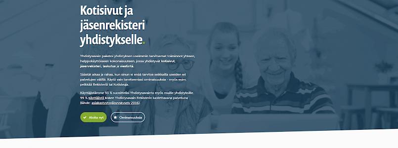 Verkkosivuprojektin vaiheita: yhdistysavain.fi